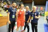 G.Diekontaitė kovos Europos jaunimo bokso čempionato finale