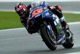 """Paskutines """"MotoGP"""" sezono lenktynes iš pirmos vietos pradės M.Vinalesas, V.Rossi susikomplikavo padėtį"""