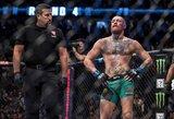 C.McGregoras MMA narve nesirodys dar pusmetį?