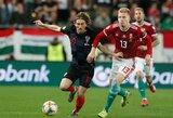 Netikėtumas atrankoje į Europos čempionatą: kroatai pralaimėjo vengrams