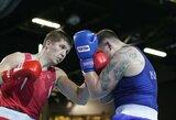 M.Valavičius Europos bokso čempionate pralaimėjo Rusijos sunkiasvoriui