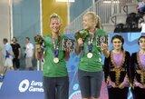 Karjeros pergalė: I.Dumbauskaitė ir M.Povilaitytė iškovojo Europos žaidynių bronzą!