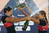 Europos paplūdimio tinklinio čempionate - sensacingas Latvijos moterų triumfas