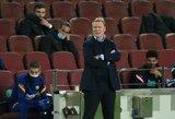 """R.Koemanas sureagavo į Q.Setieno pasisakymą apie L.Messi: """"Nesutinku su juo"""""""