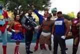 """""""Clippers"""" žaidėjai surengė super herojų vakarėlį"""