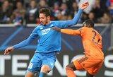 """Vokietijoje – triuškinanti """"Hoffenheim"""" ekipos pergalė"""