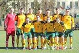 Lietuvos U-21 futbolo rinktinė iškovojo pirmą pergalę šiais metais