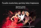 Pasaulio standartinių šokių čempionate Vilniuje – lietuviška intriga
