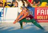 I.Zobninai ir U.Andriukaitytei nepavyko patekti į Europos jaunimo čempionato ketvirtfinalį