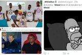 Po triuškinančio pralaimėjimo PSG – iki ausų išsišiepęs R.Koemanas ir negailestingi internautų pokštai