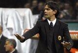 """""""Milan"""" klubas atsisakė trenerio F.Inzaghi paslaugų"""