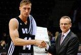 K.Berzinis kreipėsi į Latvijos krepšinio federaciją su prašymu padėti nutraukti jo sutartį su VEF klubu