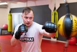 """Į MMA aukštumas žvelgiantis H.Lukošiūnas: apie """"stop"""" kikboksui, """"vazas"""", naujo kelio pradžią ir UFC"""