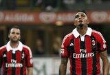"""Vasarą žaidėjus išpardavęs """"Milan"""" pralaimėjo namuose"""