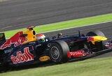 Paskutinėse Japonijos GP treniruotėse greičiausias buvo S.Vettelis