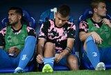"""""""Juventus"""" sporto direktorius F.Paratiči patvirtino: P.Dybala nebus parduodamas"""