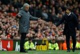 """""""Manchester United"""" jau žvelgia į ateitį? J.Mourinho gali būti pakeistas M.Pochettino"""