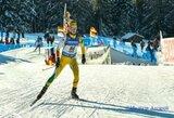 Lietuvos moterų biatlono rinktinė pasaulio taurės etape JAV – 15-a