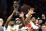 Finalų MVP tapęs K.Leonardas perrašė istoriją
