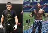 C.Nurmagomedovas ar D.Poirier? UFC kovotojai pateikė savo prognozes