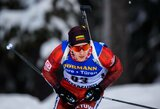 Lietuvos vyrų biatlono rinktinė pasaulio čempionate atsilaikė iki finišo