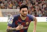 """L.Messi – geriausias žaidėjas """"FIFA 21"""" žaidime"""
