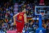 Ispanai atsisakė dviejų krepšininkų paslaugų