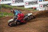 A.Jasikonis pasaulio motokroso čempionato etape Italijoje du kartus pateko į dešimtuką
