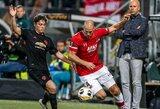 "Europos lyga: ""Man United"" išvykos rungtynes su ""AZ Alkmaar"" baigė nulinėmis lygiosiomis"