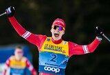 """A.Bolšunovas pirmą kartą tapo """"Tour de Ski"""" čempionu, T.Johaug susigrąžino titulą po 4 metų pertraukos"""