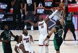 """Įspūdingas blokas pratęsimo pabaigoje lėmė """"Heat"""" pergalę Rytų finale"""