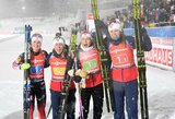 Pasaulio biatlono taurės etapas baigėsi Norvegijos rinktinės pergale