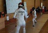 V.Ažukaitė Diuseldorfe susikovė su pasaulio fechtavimo čempione