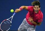 """""""US Open"""" turnyre paaiškėjo visos aštuntfinalio poros: liko vos vienas amerikietis ir vienas buvęs """"Didžiojo kirčio"""" turnyrų čempionas"""