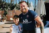 C.McGregoras pinigų lenktynėse pasiryžęs kovoti su L.Messi