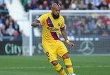"""Galimybę palikti """"Barceloną"""" svarstantis A.Vidalis nori jaustis komandoje svarbiu žaidėju"""
