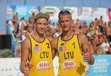 Tinklininkai A.Rumševičius ir L.Každailis Brazilijoje pateko į prestižinio turnyro pagrindines varžybas