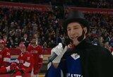 """KHL """"Visų žvaigždžių"""" šou: A.Puškinu persirengęs kanadietis ir 164 km/val. greitį pasiekęs ritulys"""