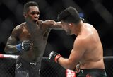 I.Adesanya stengiasi negalvoti apie kovą su J.Jonesu, UFC prezidentas mato tokią galimybę