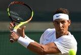 Svajonių pusfinalis: R.Nadalis atlaikė galingus S.Querrey padavimus ir susitiks su R.Federeriu