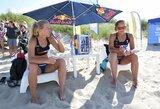 Atvirajame Lietuvos paplūdimio tinklinio čempionate paaiškėjo ketvirtfinalio poros