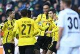 """Paskutinėmis minutėmis """"Borussia"""" išplėšė principinę pergalę"""