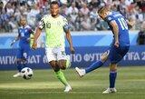 Nigerijos rinktinės kapitonas ragina kroatus elgtis profesionaliai