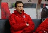 """M.Gotze atsivėrė apie komplikuotus santykius su P.Guardiola: """"Tai nebuvo lengva"""""""
