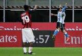 """""""Napoli"""" svečiuose atsirevanšavo """"AC Milan"""" už pralaimėjimą namuose"""