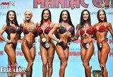 Istorinis lietuvių pasirodymas IFBB pasaulio fitneso čempionate: V.Kaminska ir R.Žiauberytė triumfavo absoliučioje įskaitoje