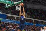 Prancūzija atrankos lange turės vieną NBA žaidėją
