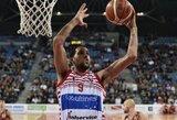 NBA neįsitvirtinęs puolėjas drebina Italijos pirmenybes