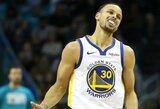 S.Curry dėl traumos nebaigė rungtynių