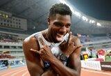 Įspūdingame 100 m bėgime – geriausi sezono rezultatai pasaulyje ir vienodi lyderių laikai